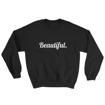 The-Beautiful-Sweatshirt_mockup_Front_Flat_Black